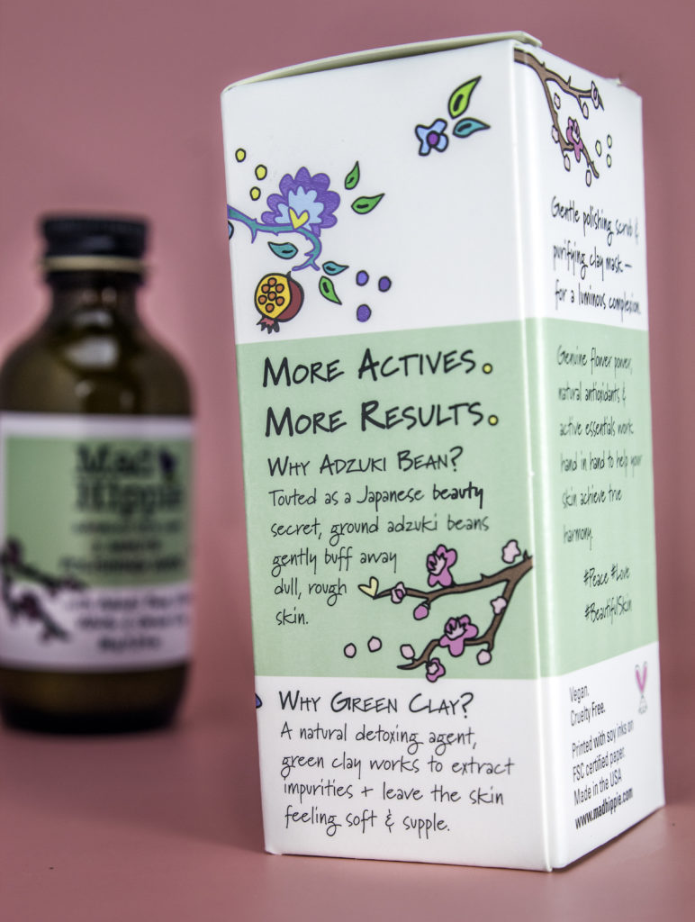 Mad Hippie contains natural, effective ingredients to exfoliate skin without damaging it