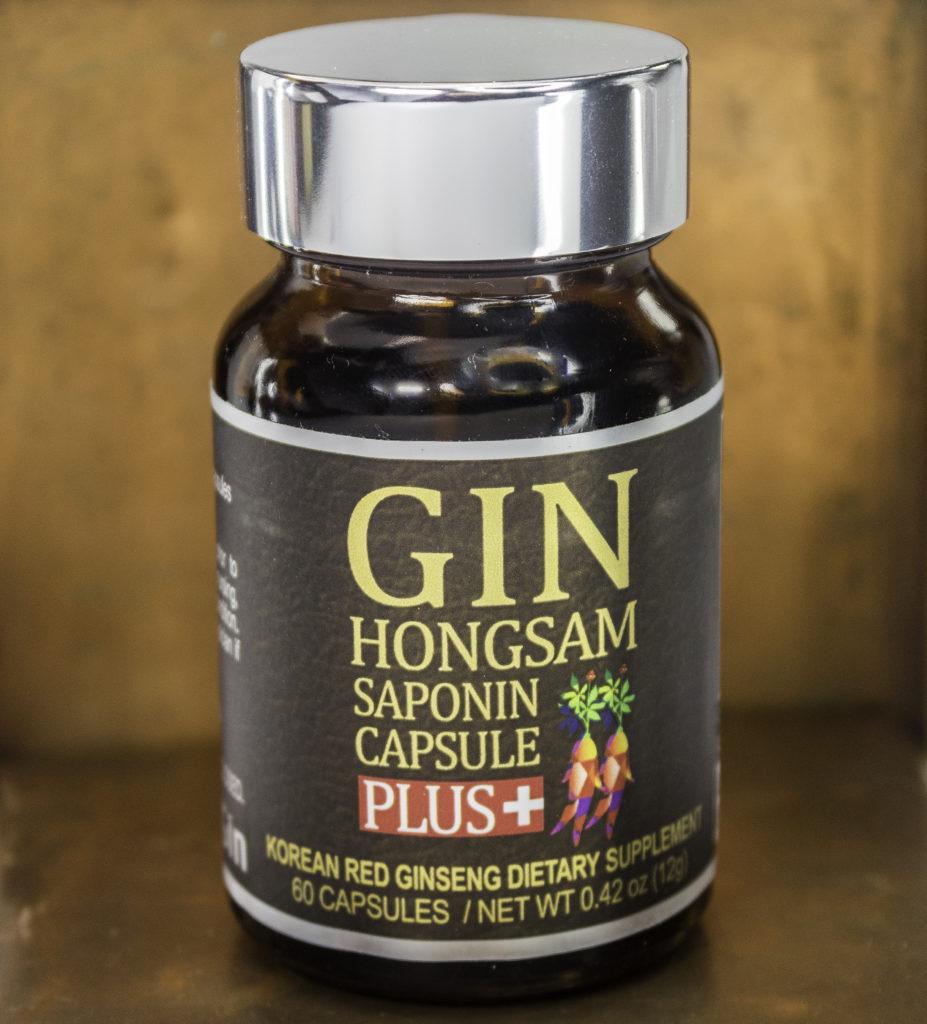 BTGIN Gin Hongsam Saponin Capsule Plus