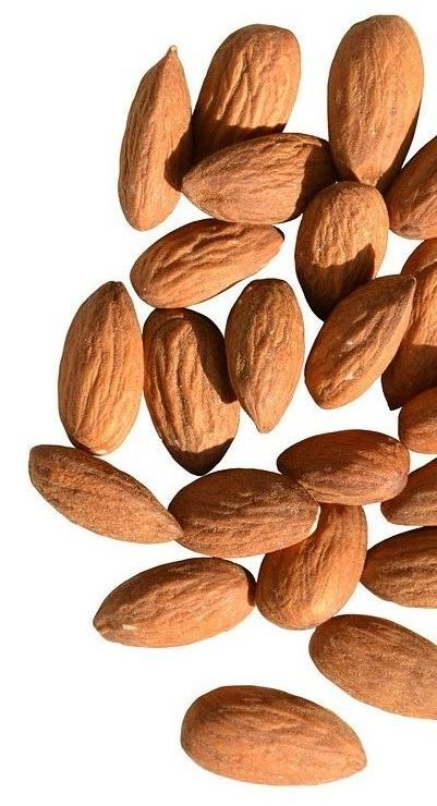 Sweet Almond Oil restores brittle hair