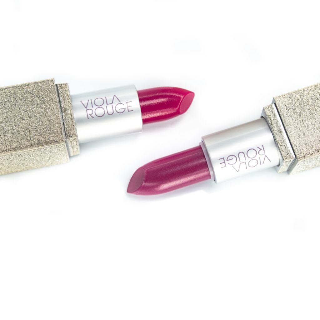 Viola Rouge lipsticks
