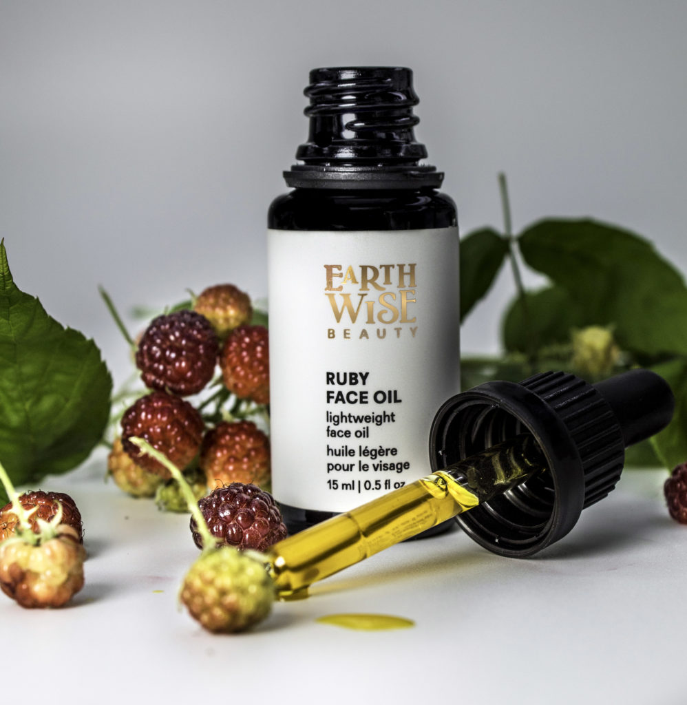 Earth Wise Ruby Face Oil Golden Oil